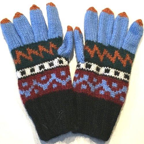 手編み手袋14 M