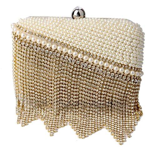 à Antique Glitter Diamante Clubs Sac À Nuptiale Soirée À Bandoulière Pour Cadeau Enveloppe Main Femmes Pochette Gold Prom Sac Dames Perlé Main Sac Mariage xRq8nPpzw6