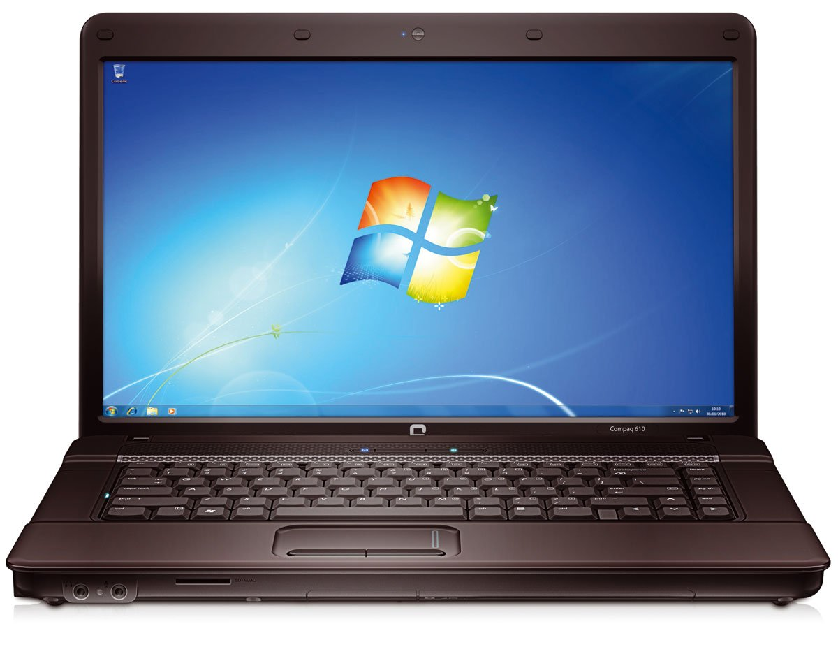 "Compaq 610 15. 6"" intel core2duo, 3gb ram, 160gb hdd, wifi, hdmi."