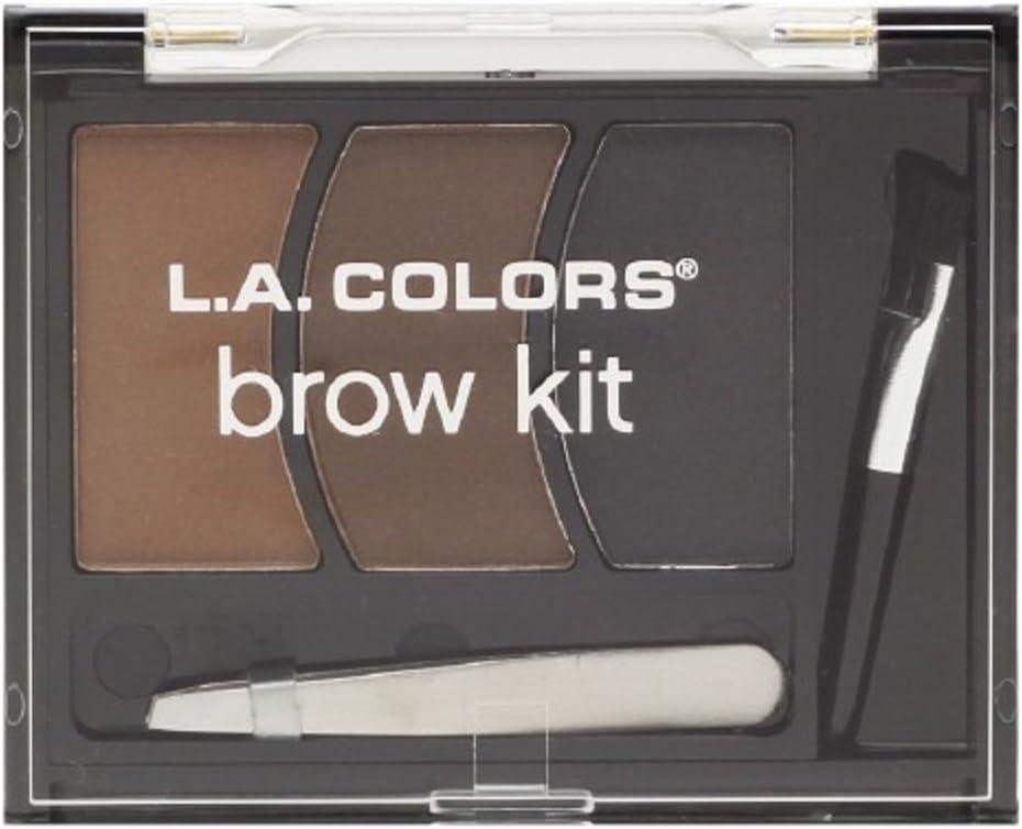 L.A. Colors BEAUTY 21 COSMETICS - BROW KIT MEDIUM