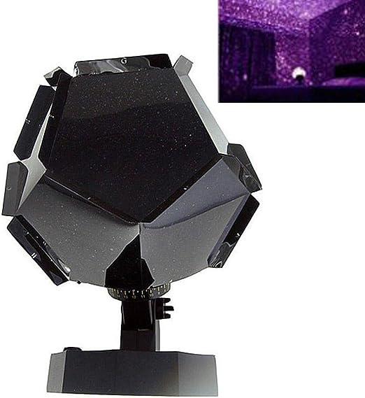LYCOS3 Lámpara de Noche con proyector de Estrellas, Cielo ...