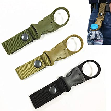 Titanium Alloy Buckle Carabiner Keychain Backpack Hanging Clip Hook Portable Out