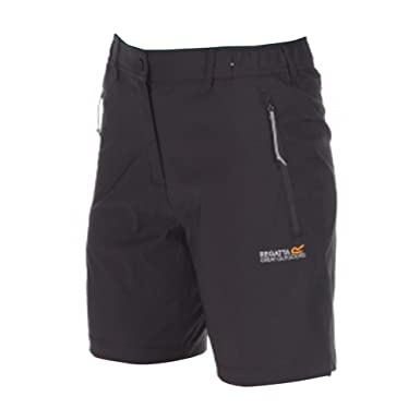Regatta Great Outdoors Womens/Ladies Fellwalk II Stretch Shorts (10) (Seal Gray) | Amazon.com
