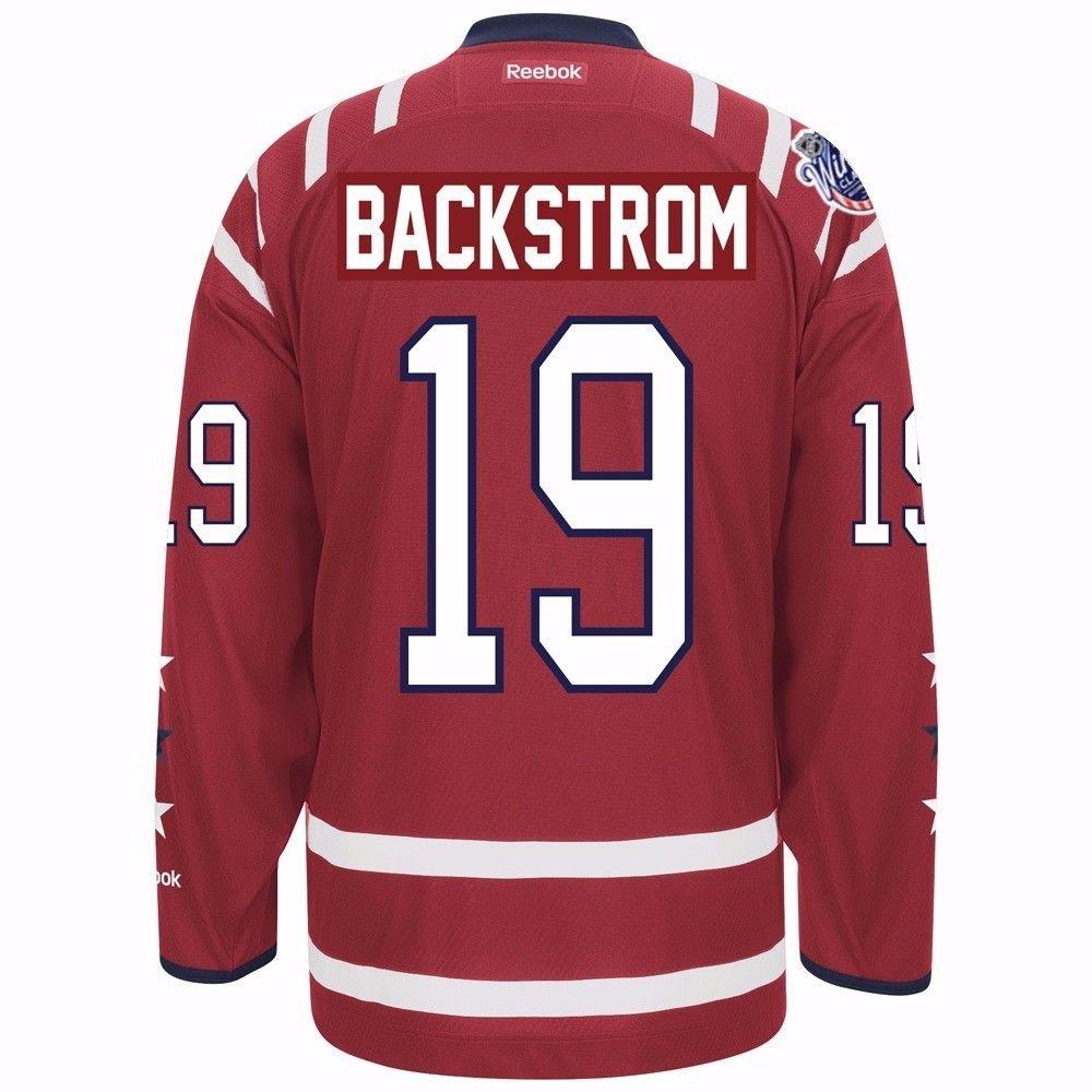 fc0fb98af ... Amazon.com Nicklas Backstrom Washington Capitals NHL Reebok Mens Red  2015 Winter Classic Premier Jersey ...
