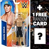 John Cena: WWE Basic Series #55 + 1 FREE Official WWE Trading Card Bundle