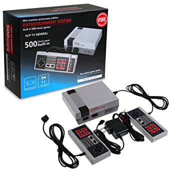 Mini retro tv game console nes 8bit classic 500 built in games 2 mini retro tv game console nes 8bit classic 500 built in games 2 pads publicscrutiny Images