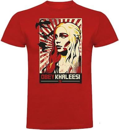 The Fan Tee Camiseta de Hombre Juego de Tronos Stark Tyrion Dragon Daenerys Khaleesi Valar Arya: Amazon.es: Ropa y accesorios