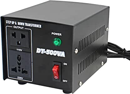 Yinleader Convertidor de Voltaje: Amazon.es: Electrónica