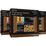 KIND Healthy Grains Dark Chocolate Mocha Bars, 6.2 Ounce (Pack of 3)