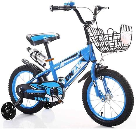MUYU Bicicleta Infantil con Rueda de Asistencia Flash 12(14,16 ...