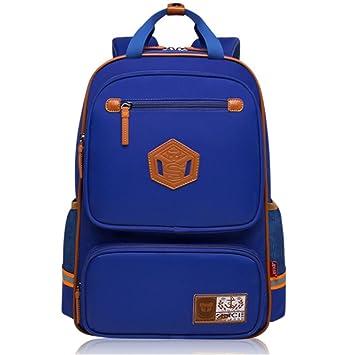 Uniuooi Primary School Bag Backpack for Boys Girls 5-7 Years Old Waterproof  Nylon Schoolbag 9bf3977af2d96