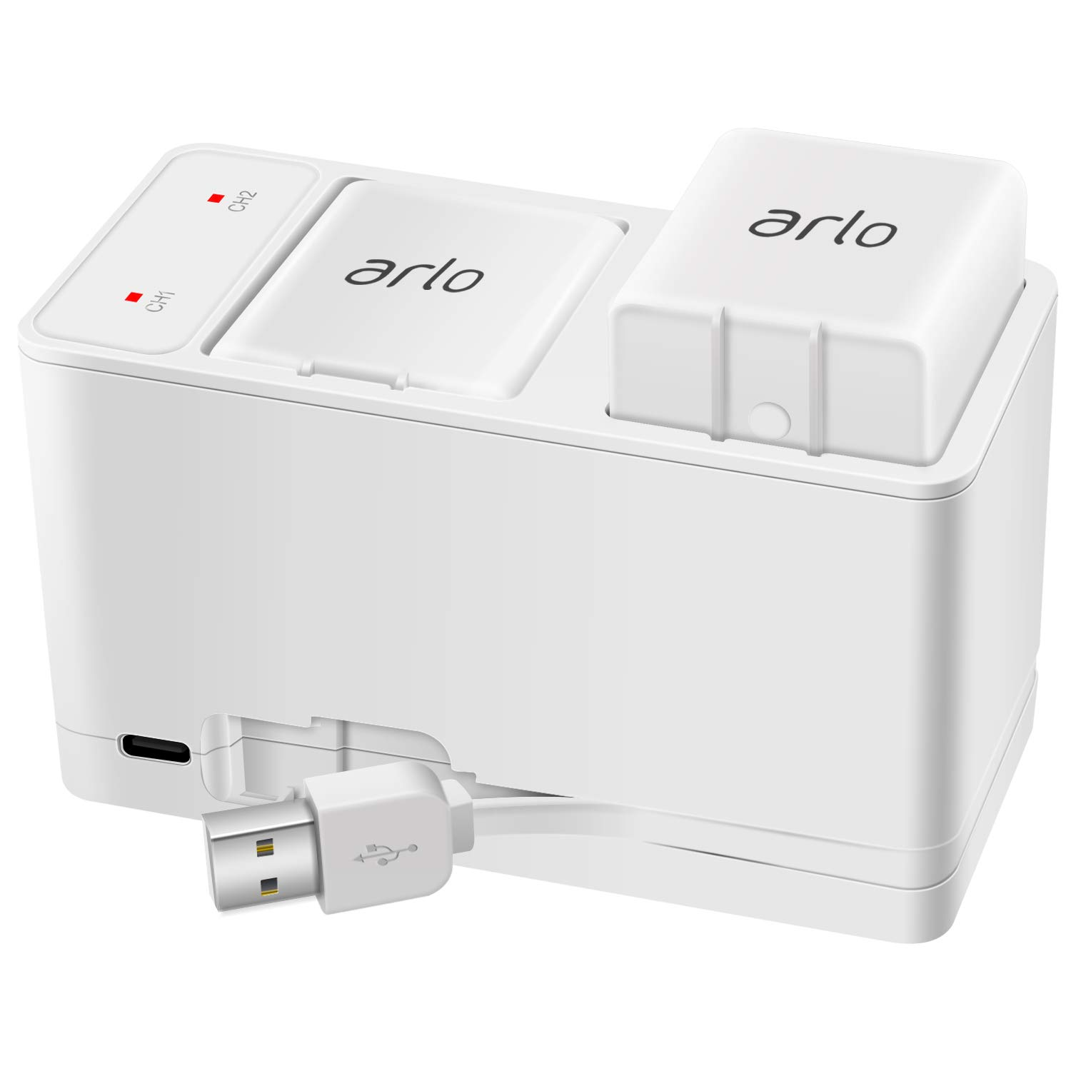 Arlo Charger Arlo Battery Charger Pro Charger Batteries Charging Stations Accessories for Arlo Pro/Pro 2/Go Camera VMA4410 VMA4400C VMA4400 by Ponkor