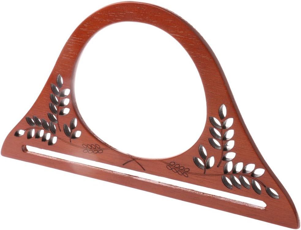 Prettyia Holz Taschengriffe Taschen Henkel Griffe Taschengriff