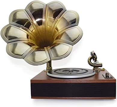JJSSGGJJLLSSJJ Tocadiscos Belt Drive 33/45/78 RPM Gramófono ...