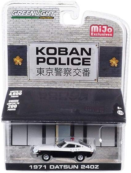 Greenlight Datsun 240Z 1971 Koban Police 51156 1//64