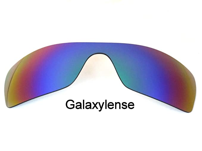 744f863c722 Image Unavailable. Image not available for. Color  Galaxy Replacement Lenses  for Oakley Batwolf Green Color Polarized