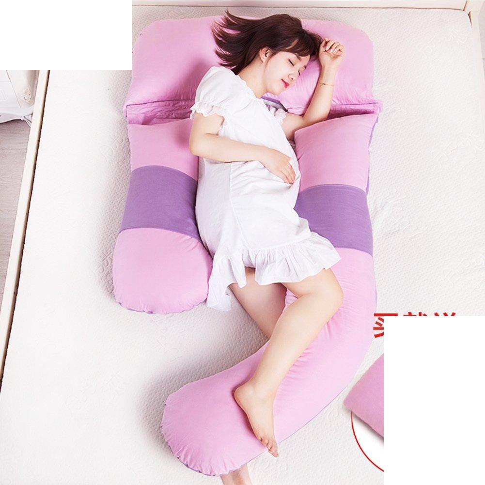 HDSGFDSHGK pregnancy pillow waist side sleeping pillow cushion sleeping pillow multifunctional u-pillow pregnant belly pillow-D 80x170x110cm(31x67x43inch)