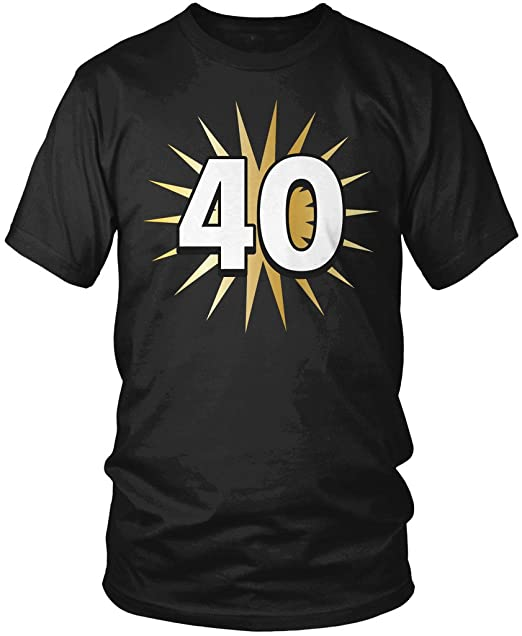 Amazon.com: 40º cumpleaños playera, de 40 años, 40º ...