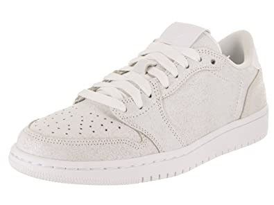 wholesale dealer e32bd b7ae3 Image Unavailable. Image not available for. Color  Jordan Air 1 Retro Low  NS Women s Shoes White Metallic Gold ...