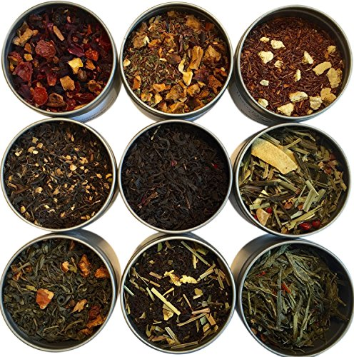 Apple Collection - Heavenly Tea Leaves Tea Sampler, 9 Count (Flavored)