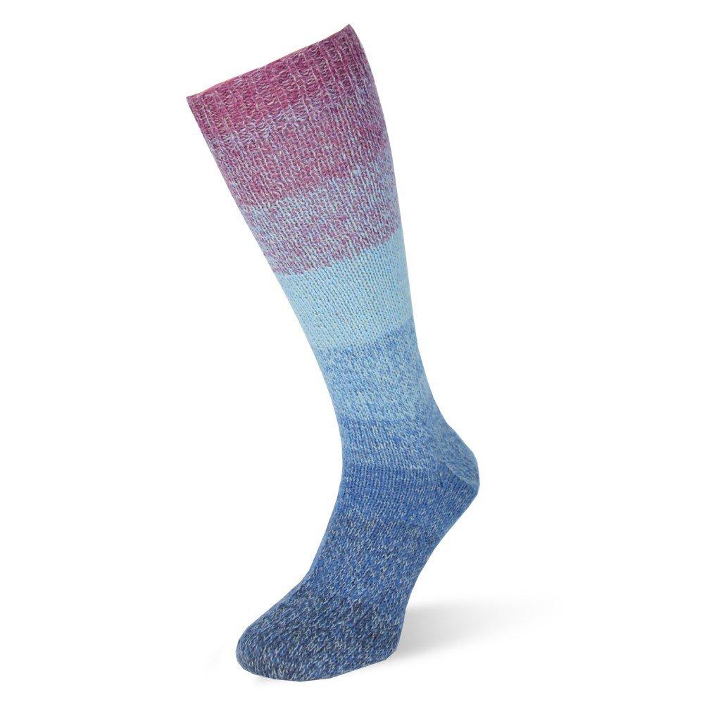 Rellana - Bobbel con degradado, 4 de fädige Calcetines Lana, 2 Bob belchen para 2 Concordancia de calcetines, 75% lana virgen (superwash - Ovillo)/25% polay ...