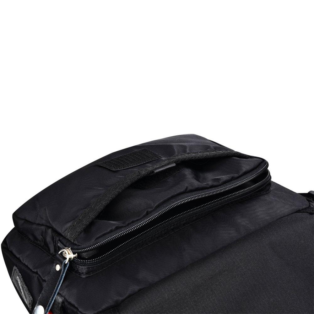 Douguyan Mens Messenger Bag Water-resistant Mini Nylon Crossbody Shoulder Side Bag 303