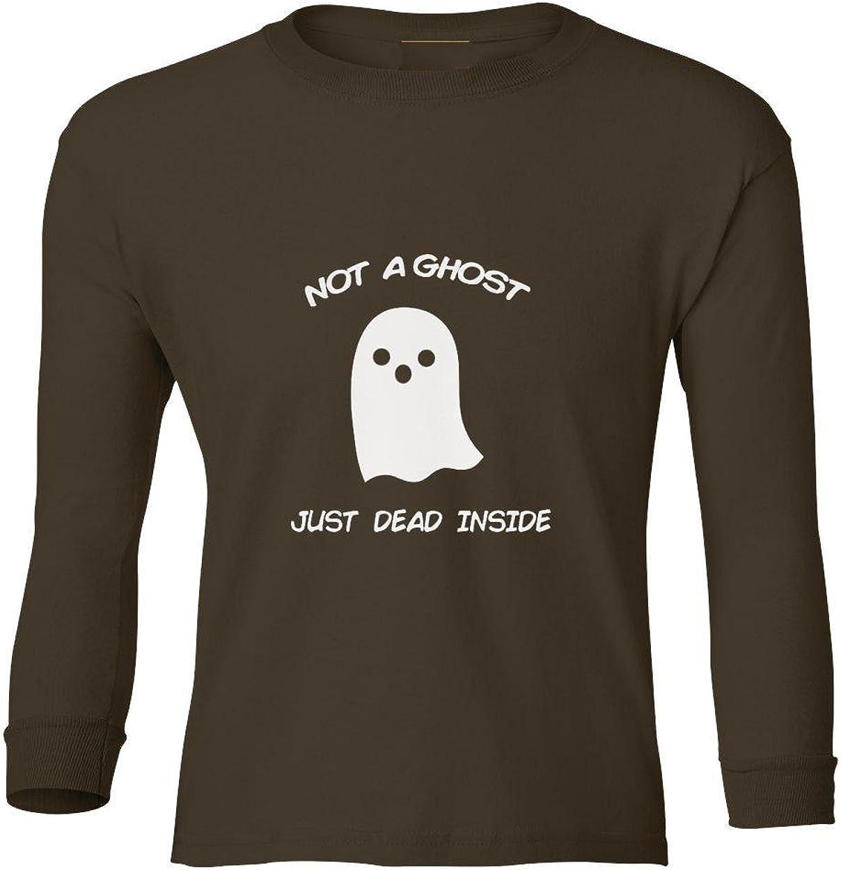 Marky G apparel Boys Not A Ghost Just Dead Inside T-Shirt