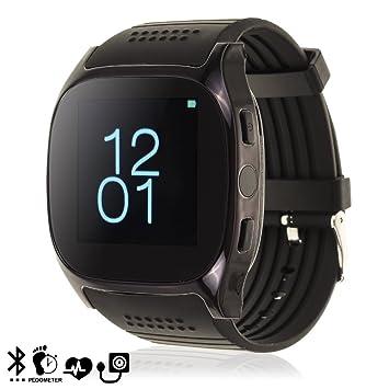 DAM TEKKIWEAR. DMX043BLACK. Smartwatch M26S Plus con Monitor ...