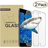 iPhone 8, 7,Screen Protector Glass, Meerveil iPhone 8, 7 Tempered Glass Screen Protector for Apple iPhone 8, 7 (2-Pack)
