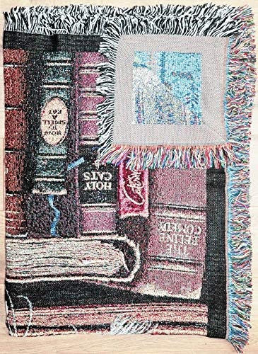 Pure Country Weavers''Frederick The Literate Blanket'' Tapestry Throw by Pure Country Inc. (Image #2)