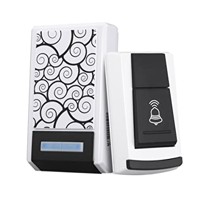 BESTVECH 36 Tunes Waterproof Wireless Remote Control Doorbell Home Receiver