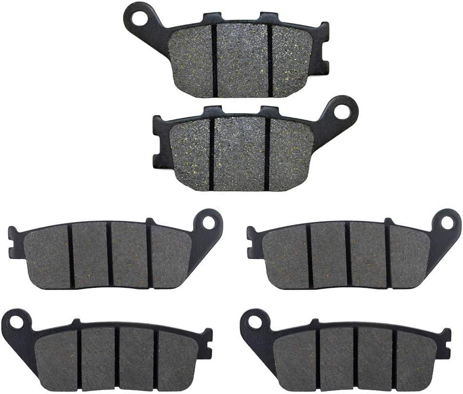 AHL 3 paires plaquettes de frein avant//arri/ère pour kawasaki dirt bike KLE 650 Versys//Versys/LT/ /2016 ABS