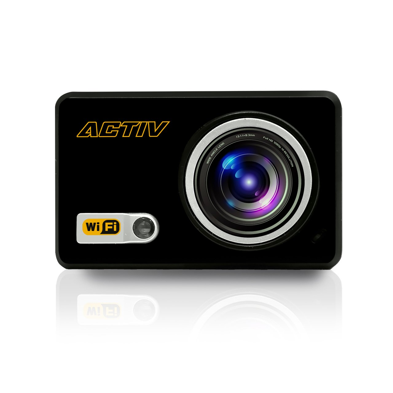 Sound Around GDV288BK HD Video Recording Gear Pro ACTIV Full HD 1080p Hi-Res Mini Sports Action Camera and Camcorder with Wi-Fi