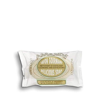 Amazon.com: LOccitane Jabón exfoliante de almendra con ...