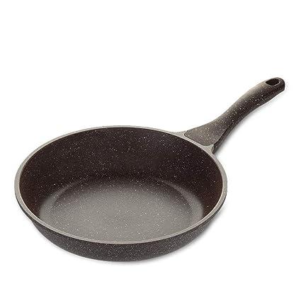 FIXD [0A79 Wok doméstico/Olla de Cocina, sartenes Pan de Piedra Maifan sartén