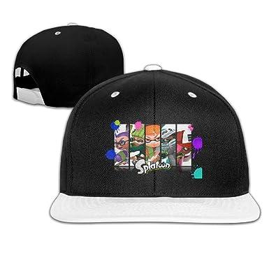 f64ae5ebd37 Amazon.com  AAWODE Kid s Splatoon Game Hats Caps White  Clothing