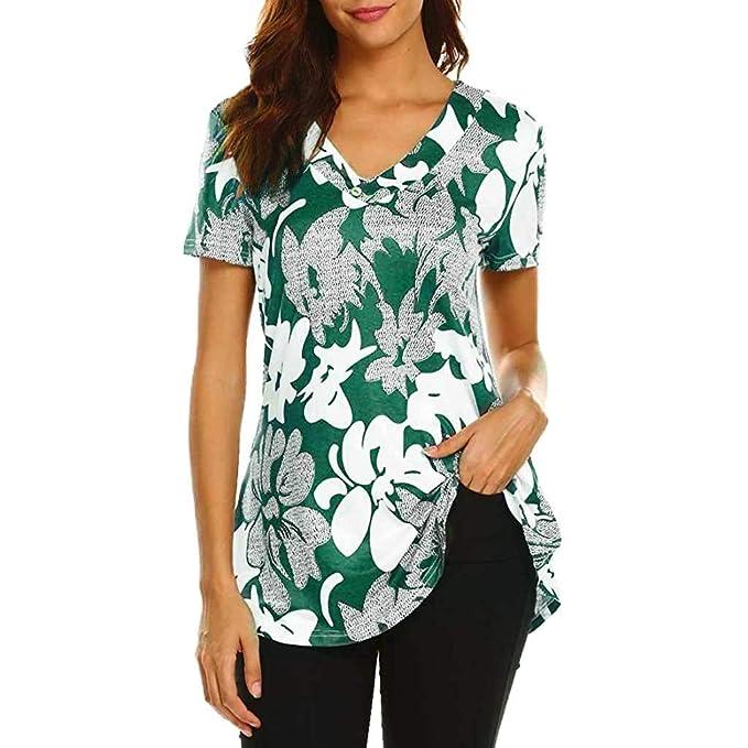 4a05546d1e Siswong Maglietta Donna Elegante Estive T-Shirt Donna Sexy Tumblr Ragazza Magliette  Donna Maniche Corte