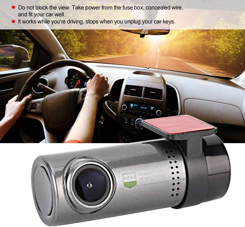Dash Cam,Car DVR Cam 1080P Full HD WIFI Driving Recording Video Camera Automobile Data Recorder