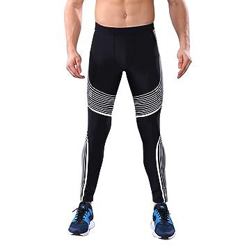 Pantalones de Compresión Mallas Hombre Secado Rápido ...