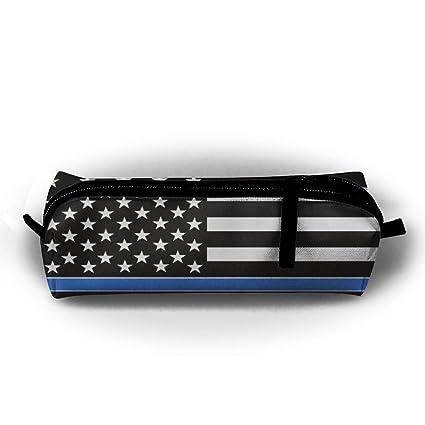 watercream línea azul bandera Policía estudiante pluma lápiz ...