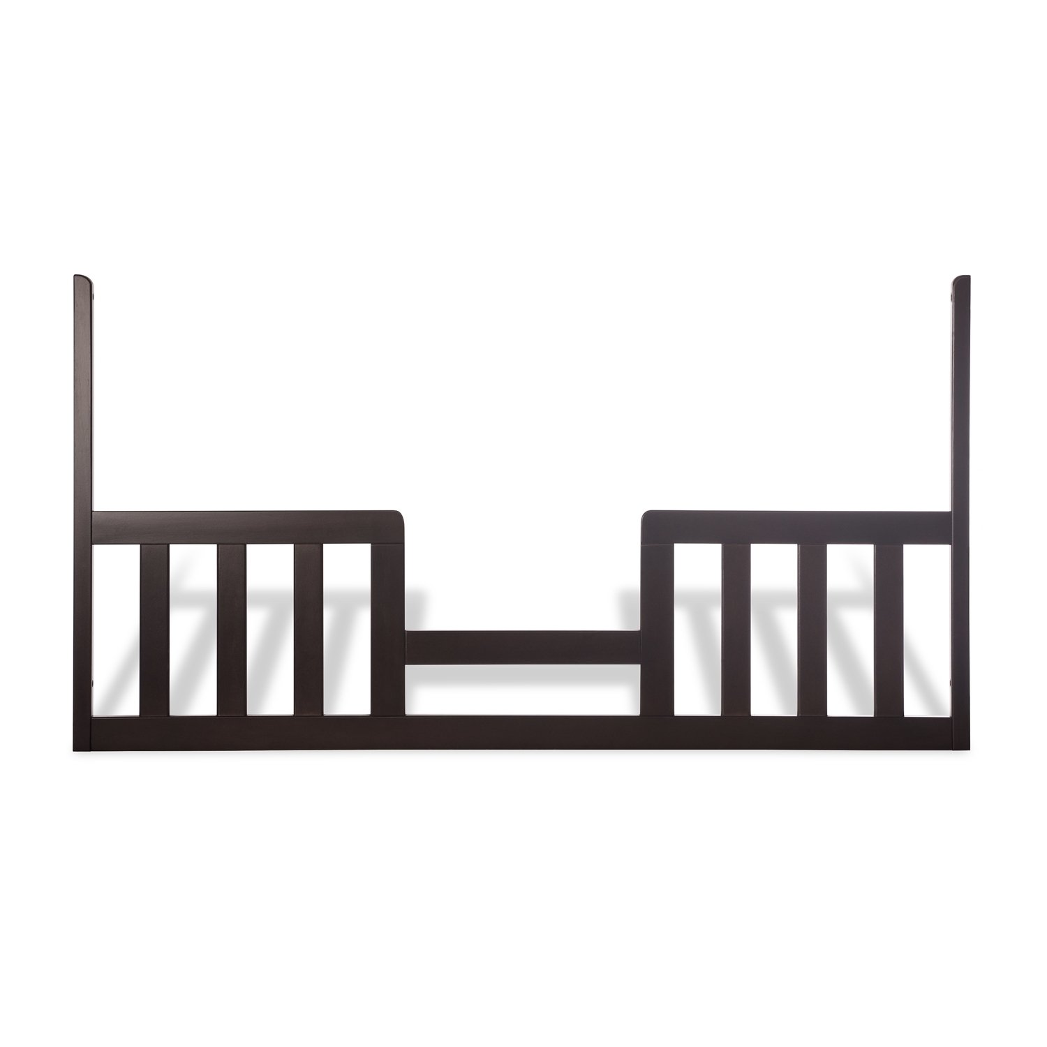 Child Craft London Matte White Toddler Guard Rail for Child Craft London Euro Stationary Crib Foundations F09524.46