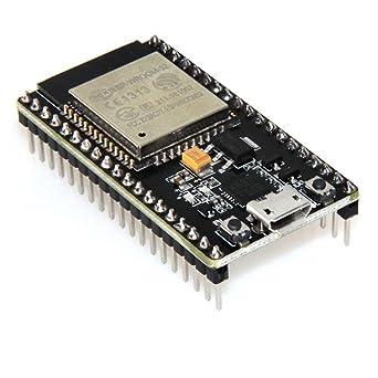 HiLetgo® ESP-WROOM-32 ESP32 ESP-32S Development Board 2 4GHz Dual-Mode WiFi  + Bluetooth Dual Cores Microcontroller Processor Integrated with Antenna