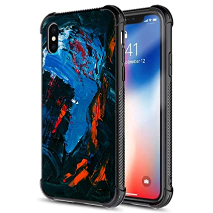 Amazon.com: XanaduC Funda para iPhone XS, iPhone X, carcasa ...