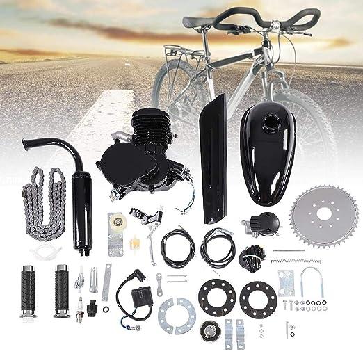 Kit de motor de bicicleta 80CC, bicicleta motorizada de 2 tiempos ...