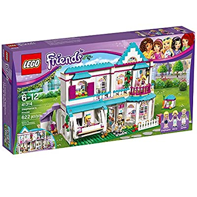 LEGO Friends Stephanie's House 41314 Build and Play Toy House with Mini Dolls, Dollhouse Kit (622 Pieces): Toys & Games