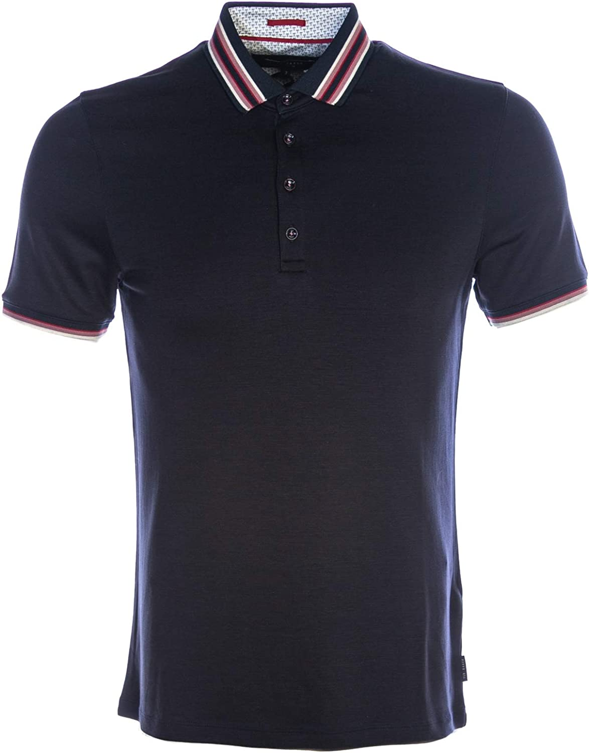 Ted Baker Teacups Polo Shirt in Navy