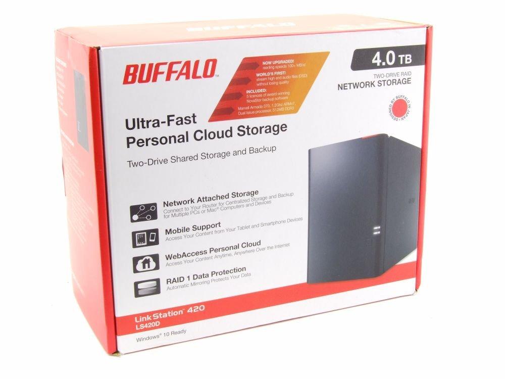 Buffalo LinkStation 420 4TB Cloud Network Storage NAS Array ls420d0402 de EU ls420d (Certificado y General para embragues): Amazon.es: Informática