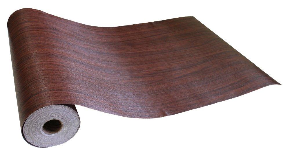 はがせるシール壁紙 男前部屋 のりつき壁紙 50cm幅 Magicfix 木目 ウッド 防水 (15mパック+道具付きセット, 11●DW-34 ベーシックウッド(ダークブラウン)) B0733574P3 15mパック+道具付きセット|DW-34 ベーシックウッド(ダークブラウン)