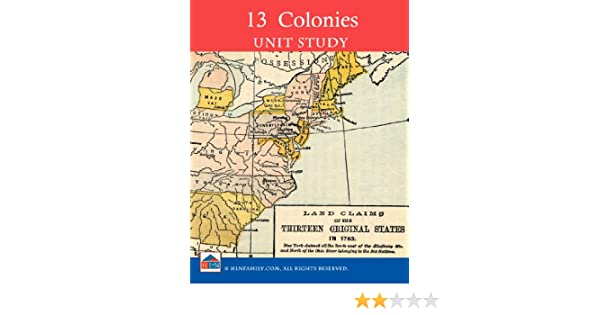 Amazon.com: Colonial America the 13 Colonies Unit Study eBook ...