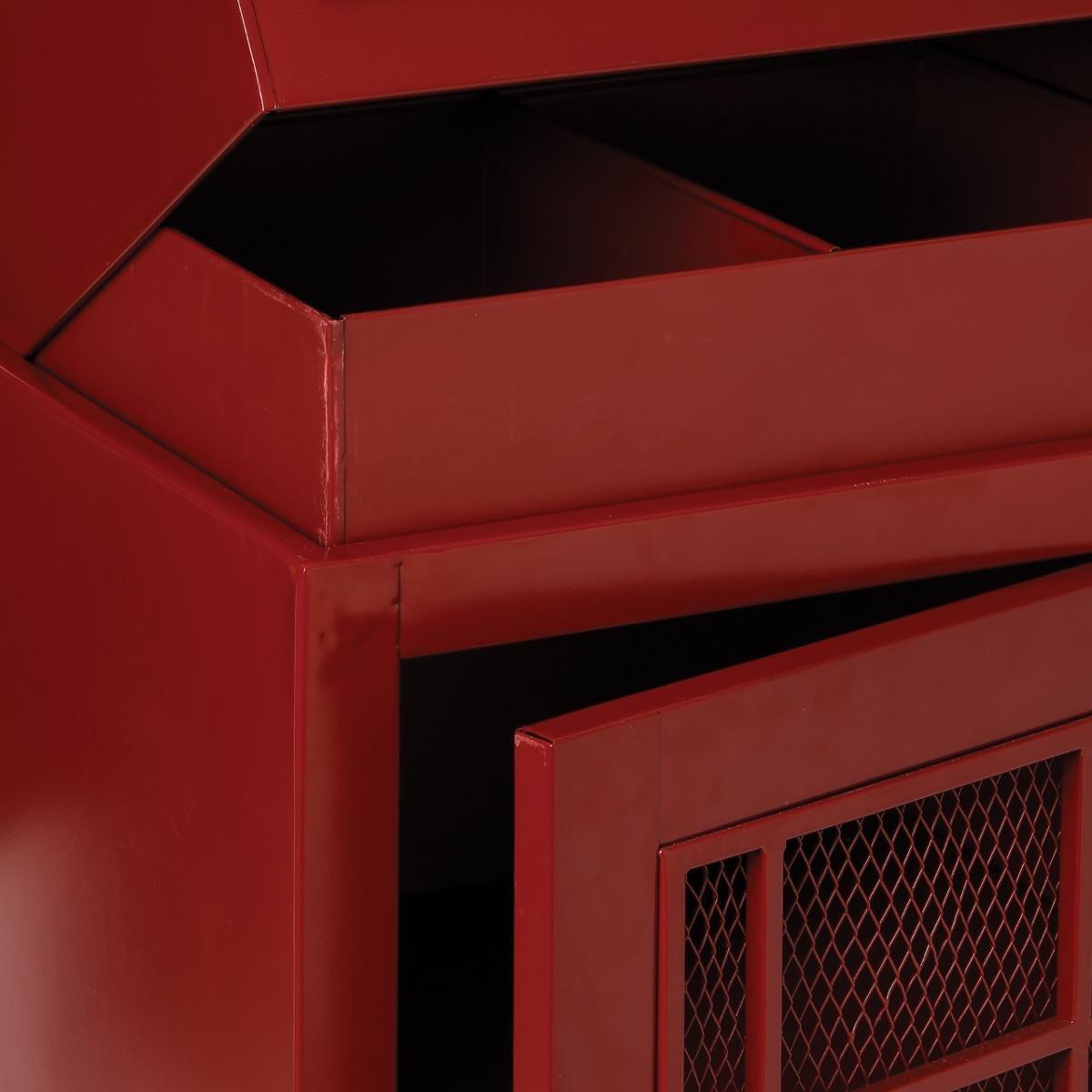 Meuble étagère Grande Cabine Téléphonique - Style London - Coloris ROUGE:  Amazon.fr: Cuisine U0026 Maison